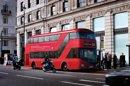 Les célèbres bus rouges de Londres vont se mettre au vert